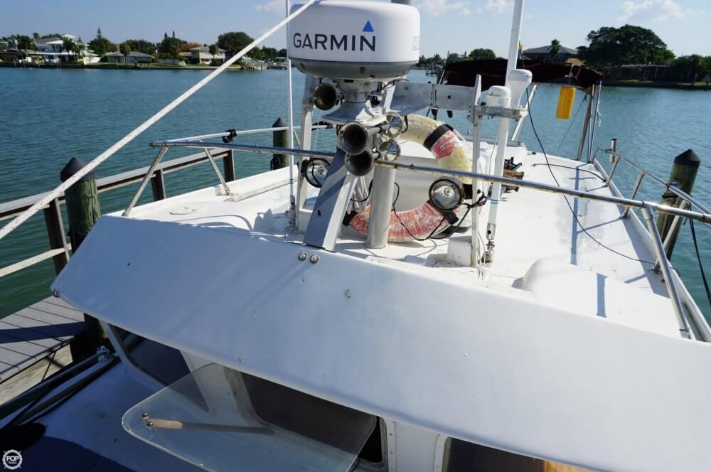 2000 Custom boat for sale, model of the boat is 45 Pilothouse Trawler & Image # 28 of 40