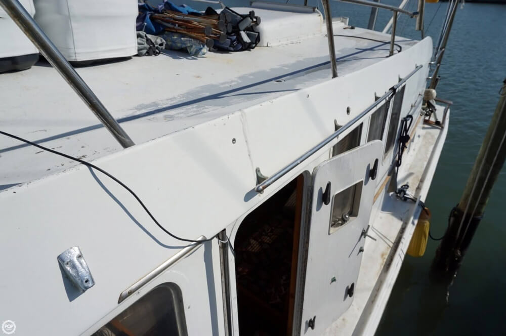2000 Custom boat for sale, model of the boat is 45 Pilothouse Trawler & Image # 34 of 40