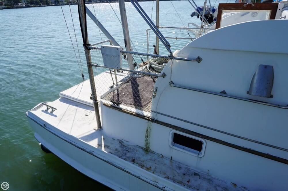 2000 Custom boat for sale, model of the boat is 45 Pilothouse Trawler & Image # 39 of 40