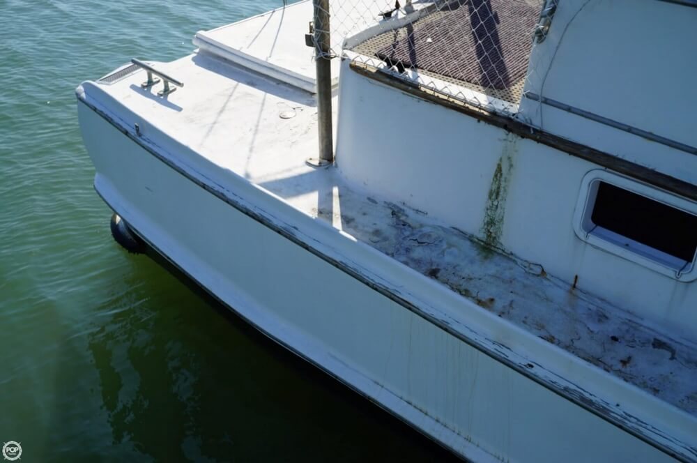 2000 Custom boat for sale, model of the boat is 45 Pilothouse Trawler & Image # 40 of 40