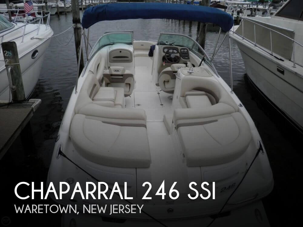 2007 Chaparral boat for sale, model of the boat is 246 SSi & Image # 1 of 40