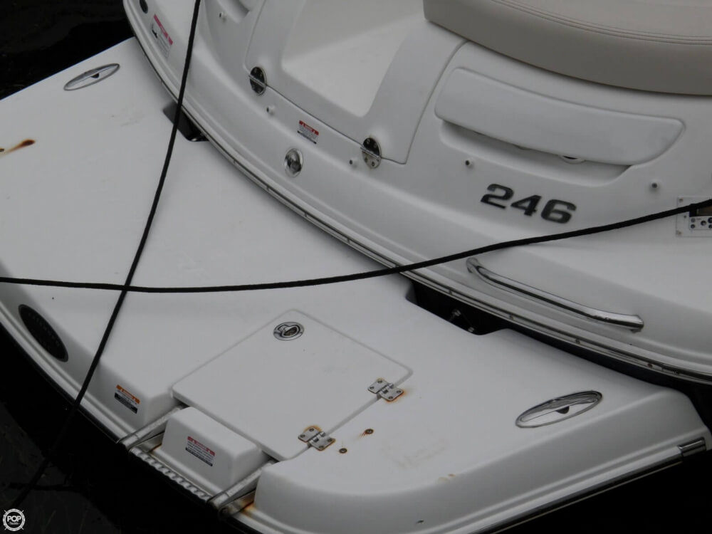 2007 Chaparral boat for sale, model of the boat is 246 SSi & Image # 14 of 40