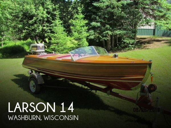 Used Boats For Sale in Duluth, Minnesota by owner   1954 Larson 14