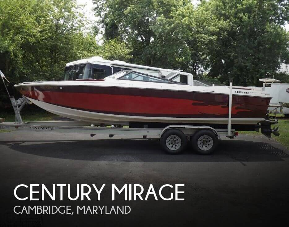Used High Performance Boats For Sale in Maryland by owner | 1985 Century 26
