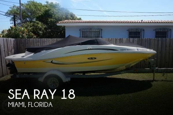 2008 Sea Ray 18 - Photo #1