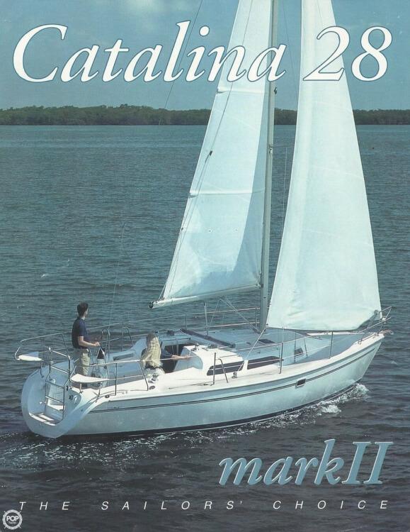 1998 Catalina 28 - Photo #3
