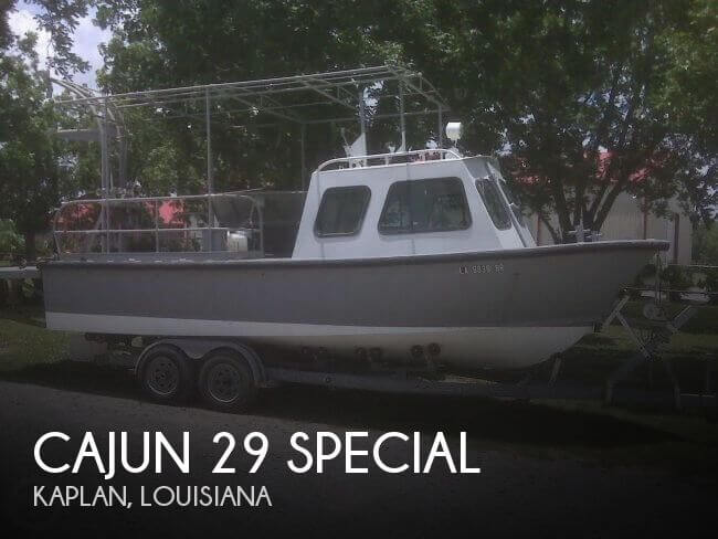 Used Boats For Sale in Lafayette, Louisiana by owner | 1983 Cajun 29