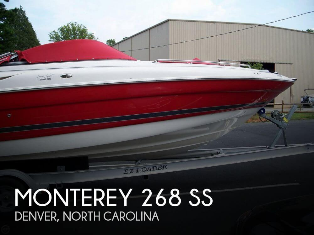 Used 2007 MONTEREY 268 SS