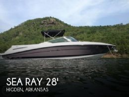 2008 Sea Ray 270 SLX Bowrider