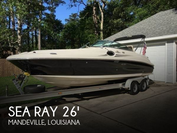 26 foot sea ray 26 26 foot sea ray motor boat in for Department of motor vehicles mandeville la
