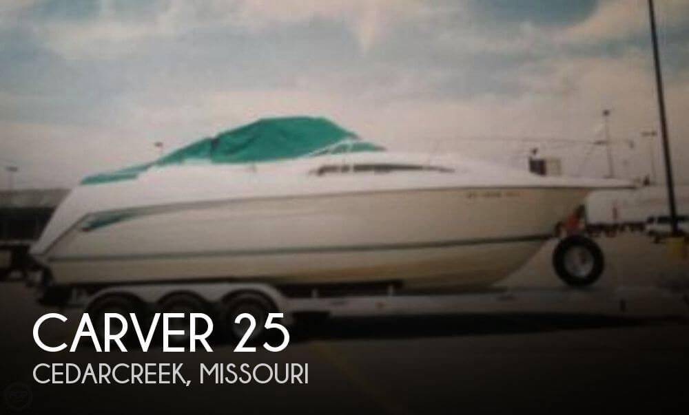 Used Boats For Sale in Springfield, Missouri by owner | 1994 Carver 25