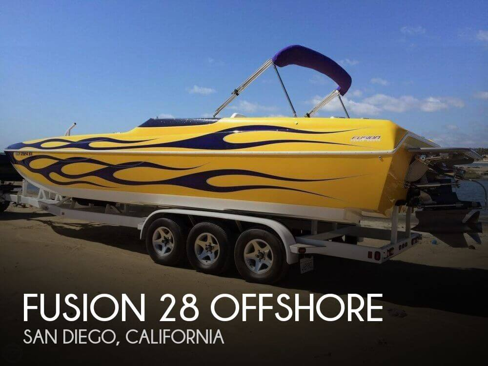 Used Boats For Sale in San Diego, California by owner | 2006 Fusion 28