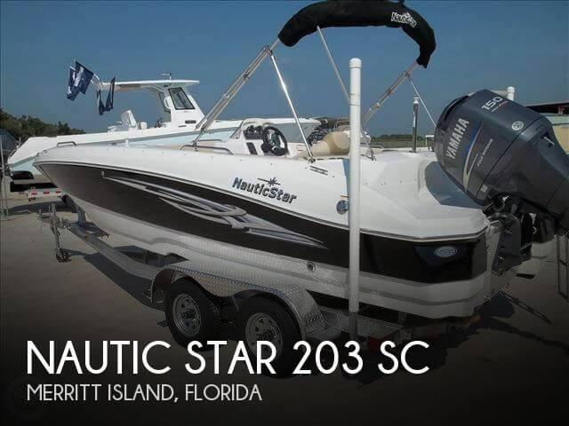 20 Foot Nautic Star 20 20 Foot Nautic Star Boat In Merritt Island Fl 4392171493 Used Boats