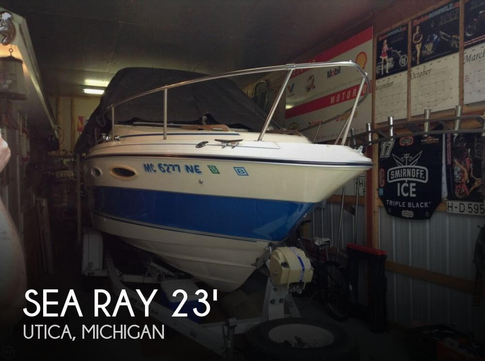 Used Sea Ray Boats For Sale in Michigan by owner | 1986 Sea Ray 23