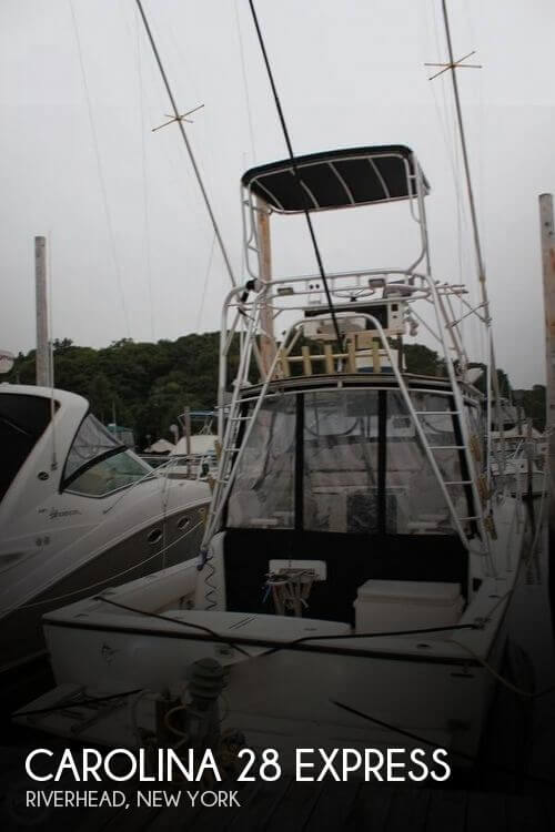 Used Boats For Sale in Norwich, Connecticut by owner | 1995 Carolina Classic 28