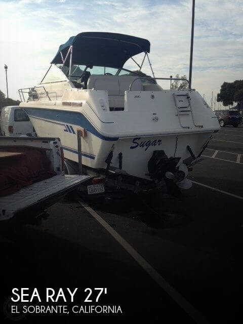 Used Boats For Sale by owner | 1992 Sea Ray 27