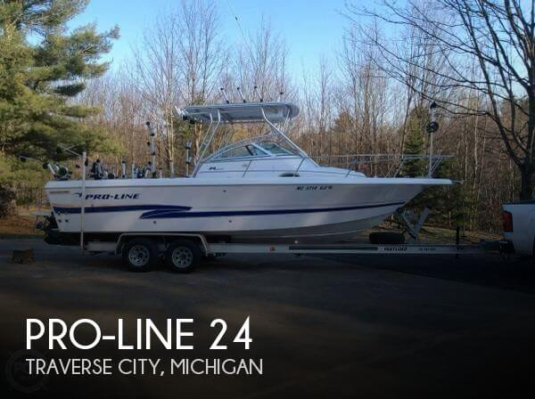 24 Foot Pro Line 24 24 Foot Motor Boat In Traverse City