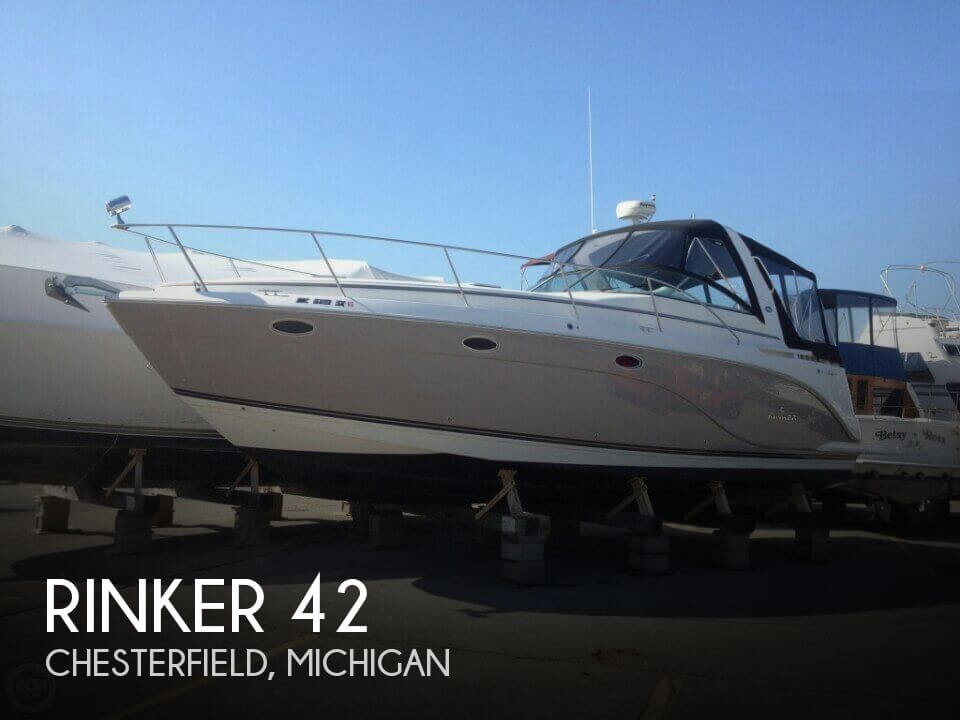 Used Boats For Sale in Flint, Michigan by owner | 2007 Rinker 42