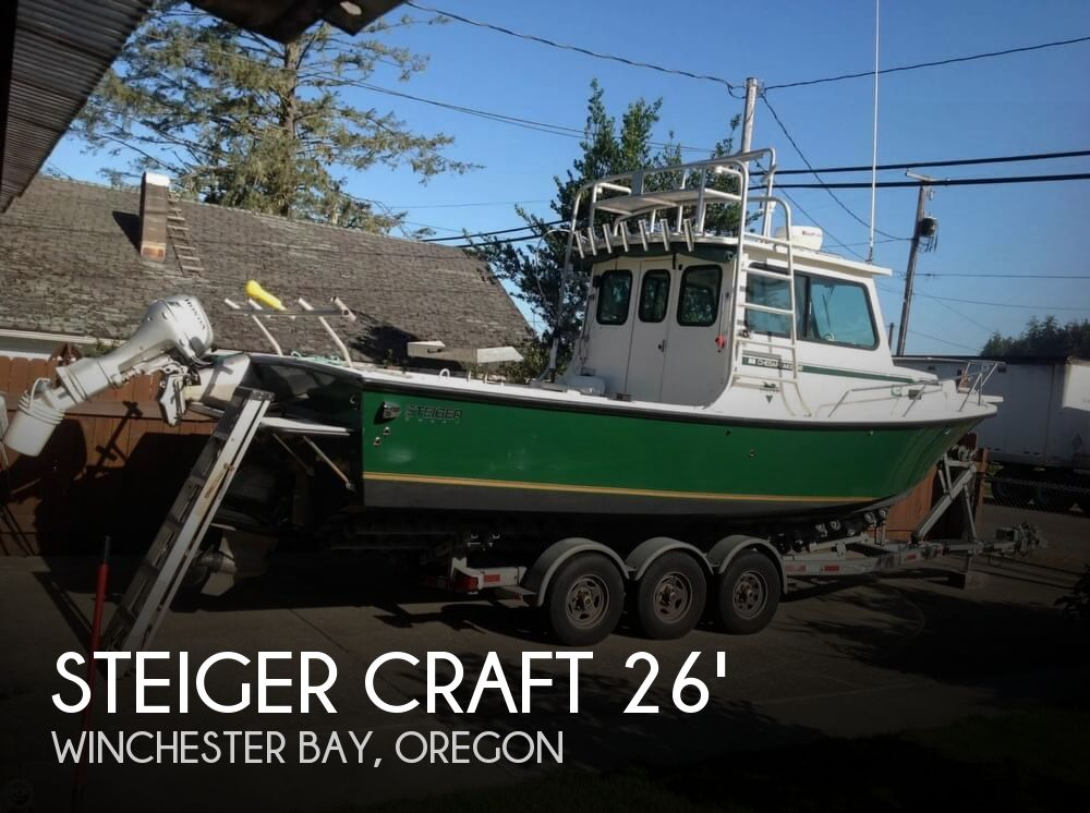 Used Boats For Sale in Eugene, Oregon by owner | 2005 Steiger Craft 26