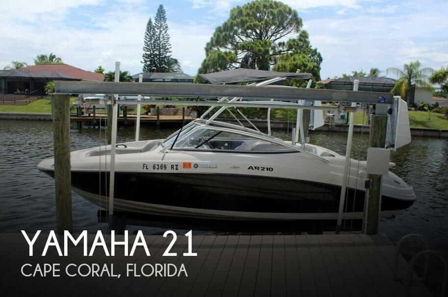Used Yamaha Boats For Sale in Cape Coral, Florida by owner | 2011 Yamaha 21