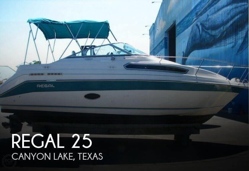 Used Regal Boats For Sale in Texas by owner | 1995 Regal 25