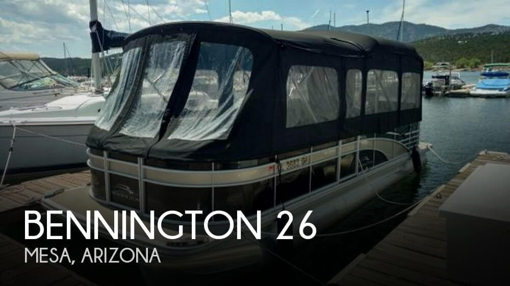 Used Boats For Sale in Phoenix, Arizona by owner | 2013 Bennington 26
