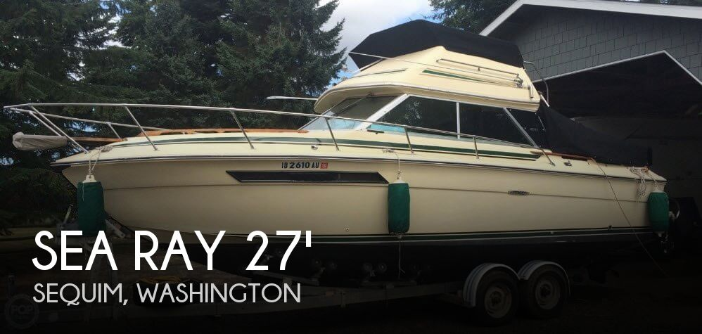 Used Sea Ray Boats For Sale in Washington by owner | 1979 Sea Ray 27