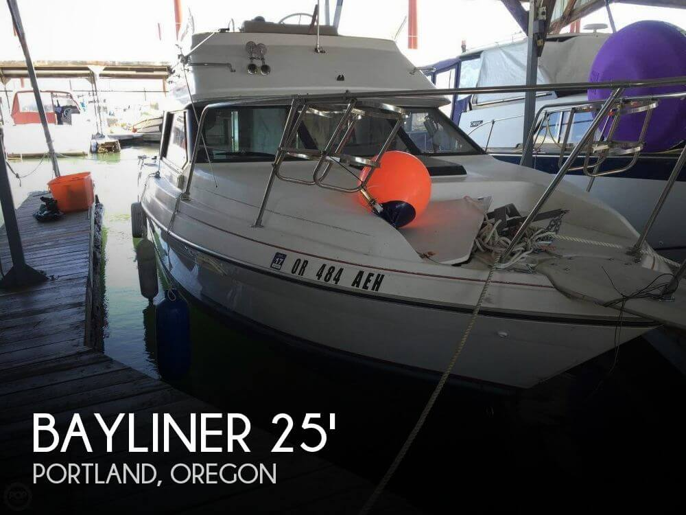 Bayliner fishing boats for sale used bayliner fishing for Used fishing boats