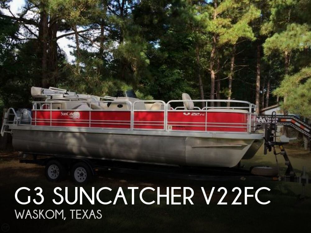 Used Pontoon Boats For Sale in Texas by owner | 2013 G3 22