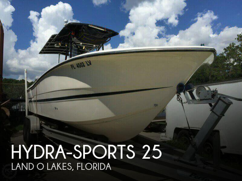 Used Hydra-Sports Boats For Sale by owner | 1996 Hydra-Sports 25