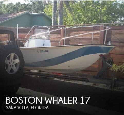 1981 BOSTON WHALER 17 for sale