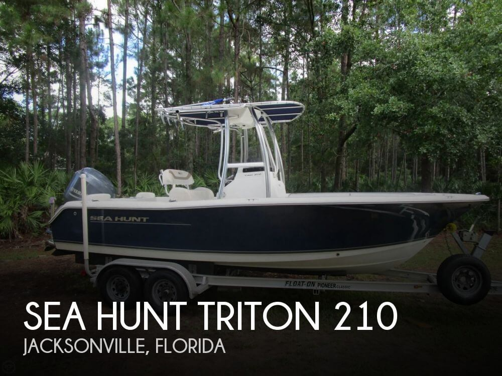 Sea hunt triton 210 for sale in jacksonville fl for for Fish hunt fl