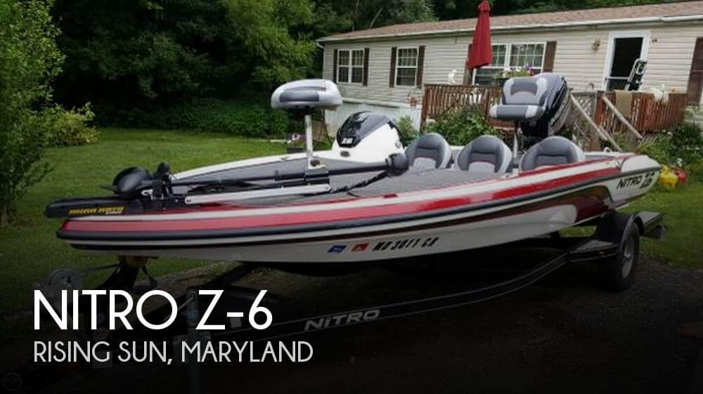 2015 Nitro Z-6 For Sale By POP Yachts