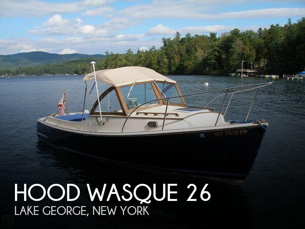 Used Boats For Sale in Albany, New York by owner | 1999 Hood 26