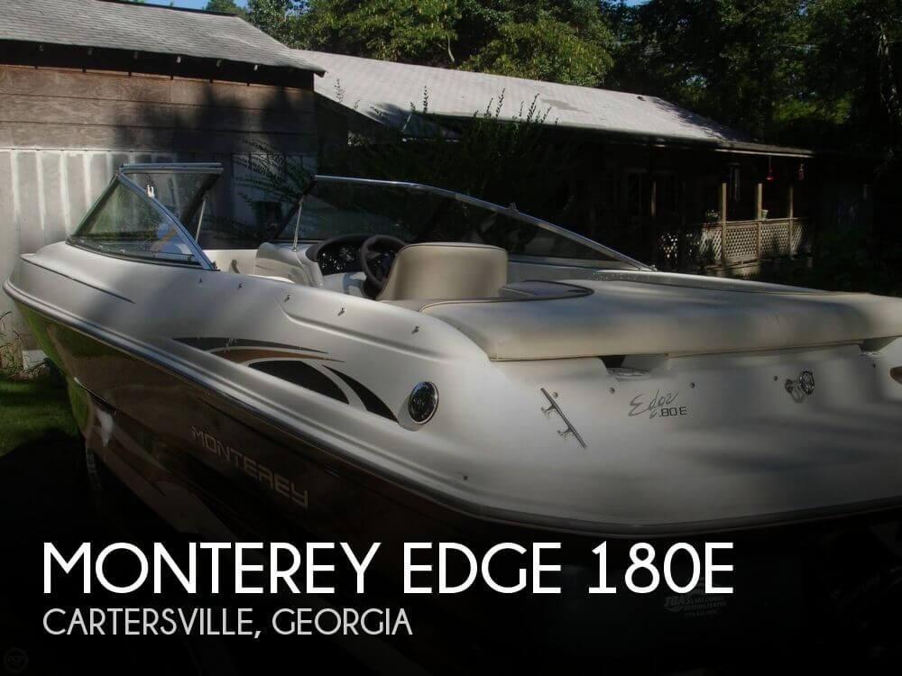 For Sale Used 2002 Monterey Edge 180e In Cartersville Georgia
