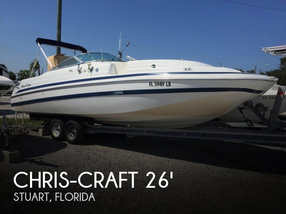 2000 CHRIS CRAFT 262 SPORT DECK for sale