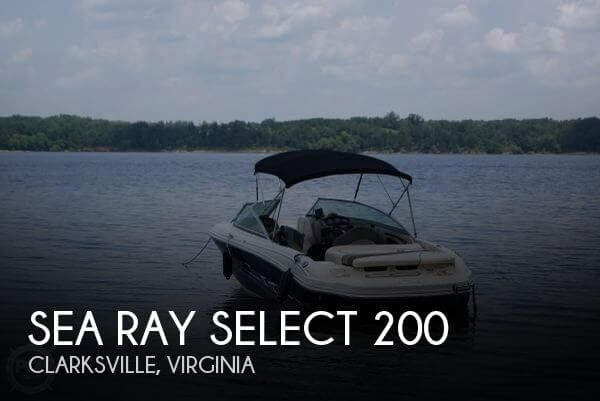 2005 SEA RAY SELECT 200 for sale