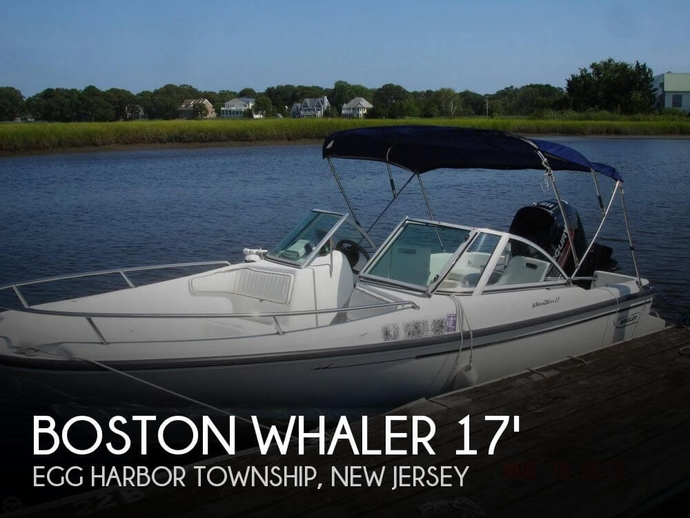 Boston whaler 17 dauntless for sale in egg harbor twp nj for Fishing boats for sale nj