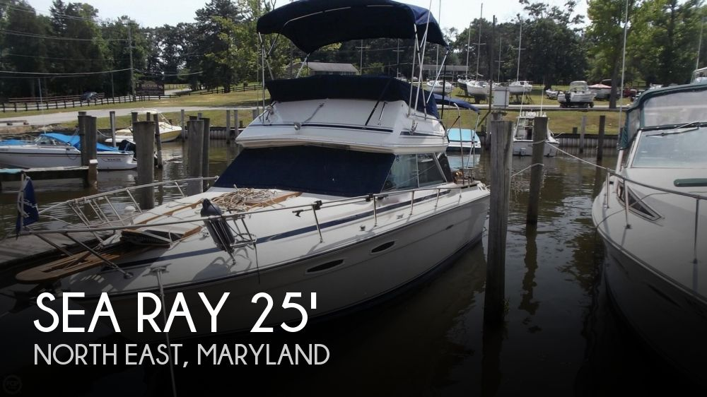 Used Motoryachts For Sale in Maryland by owner | 1981 Sea Ray 25