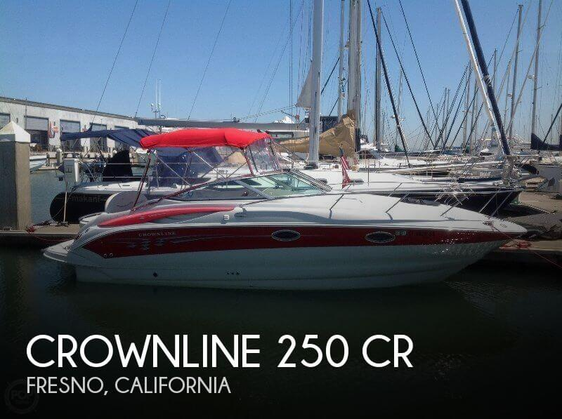 Used Boats For Sale in Fresno, California by owner | 2005 Crownline 26