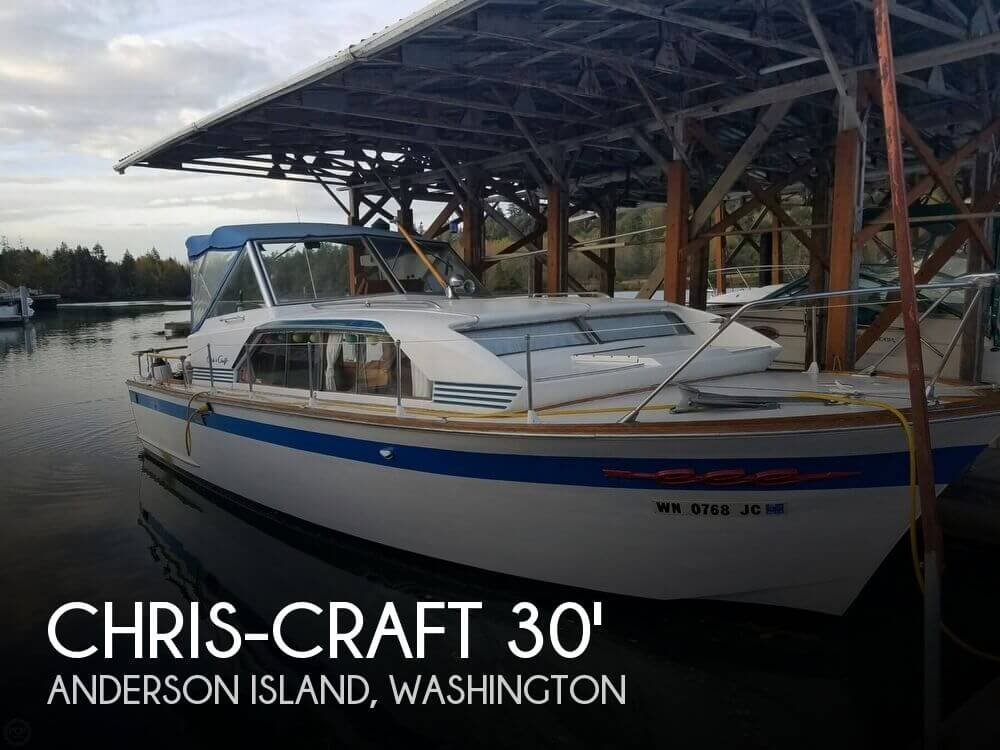 Used Chris-Craft Boats For Sale in Washington by owner | 1963 Chris-Craft 30