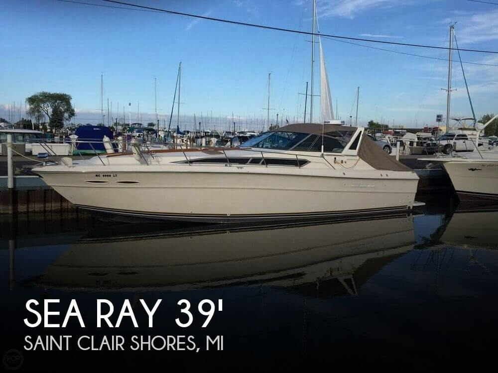 Used Sea Ray Boats For Sale in Michigan by owner   1984 Sea Ray 39