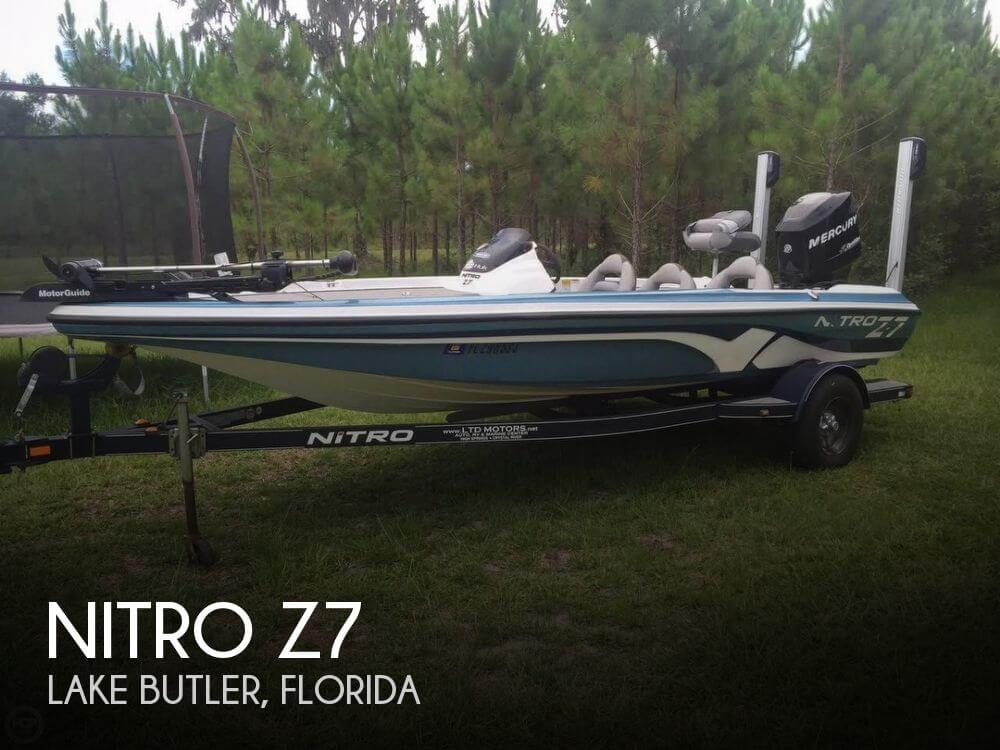 Nitro z7 for sale in lake butler fl for 17 000 pop yachts for Bass fishing boats for sale
