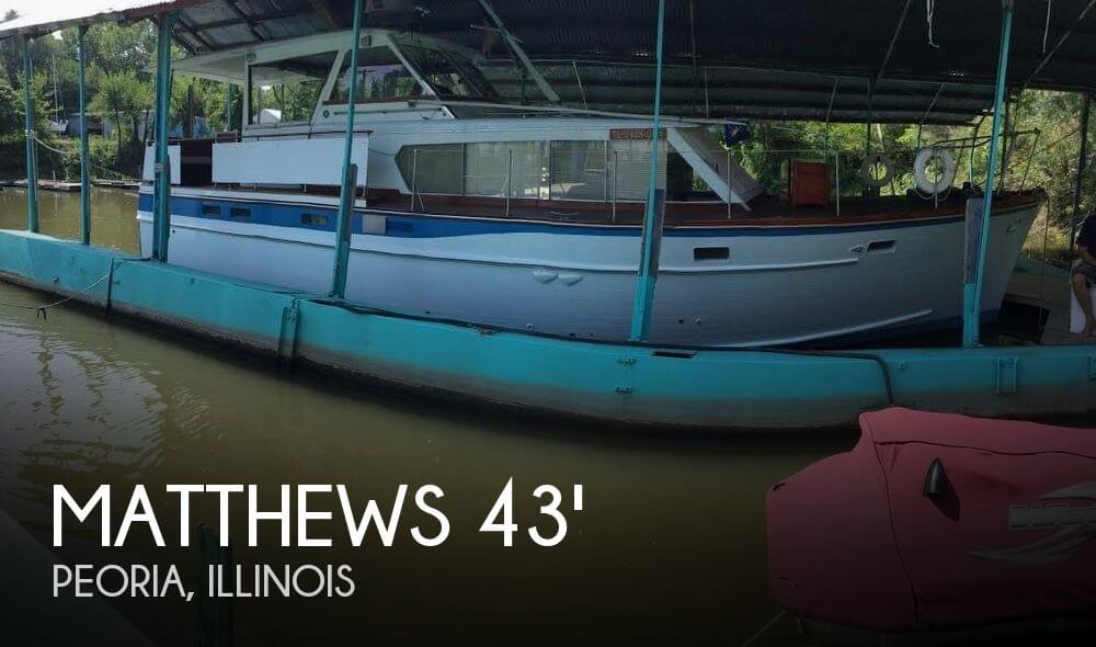 Used Boats For Sale in Davenport, Iowa by owner | 1965 Matthews 43