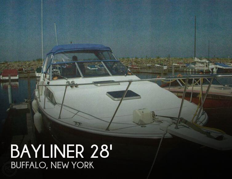 1984 Bayliner 28 - Photo #1