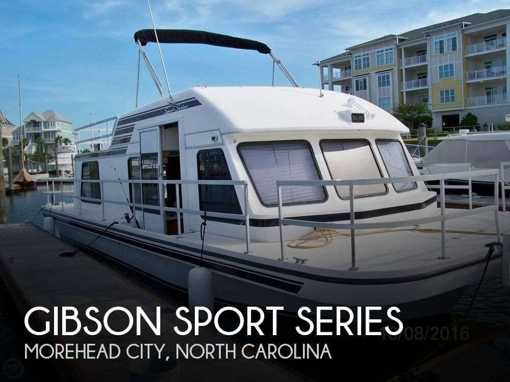 Used Houseboats For Sale in North Carolina by owner | 1993 Gibson 37
