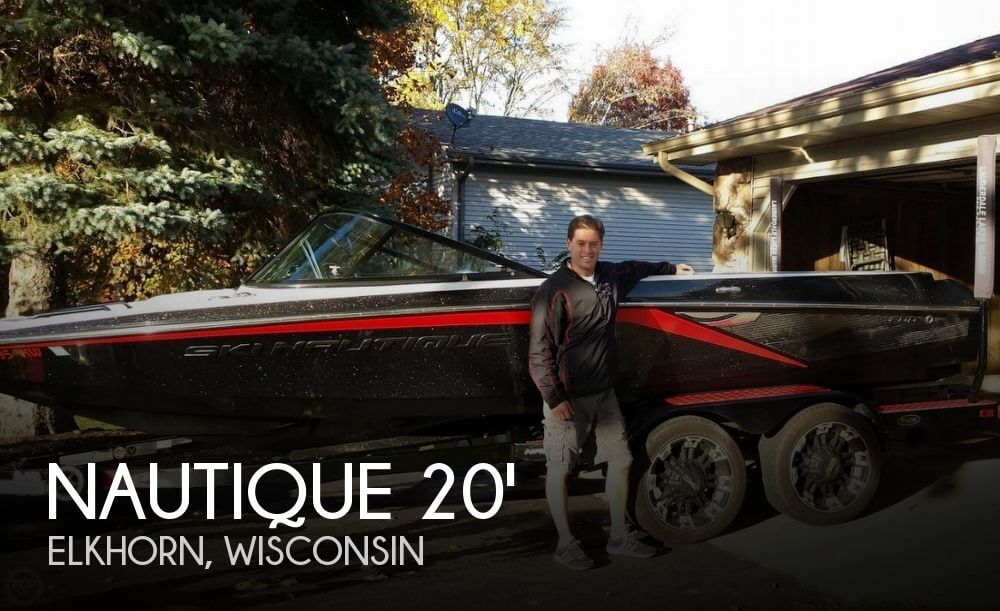 2012 NAUTIQUE 200 ANDY MAPPLE ICON EDITION for sale