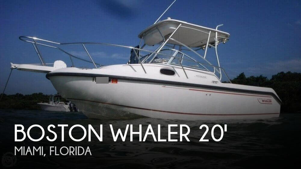 Used Boston Whaler Boats For Sale in Florida by owner | 2000 Boston Whaler Conquest 21 WA