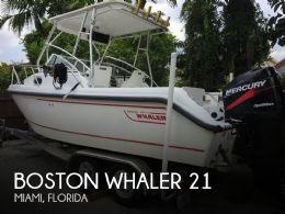 2000 Boston Whaler Conquest 21 WA
