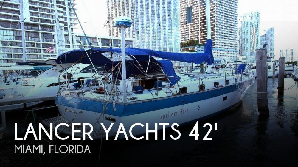 1981 Lancer 42 masthead sloop